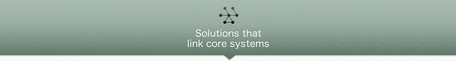 Solutions that link core systems