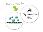ERP製品「Microsoft DynamicsNAV」と簡単に連携できる「DynamicsNAVアダプター」を公開!早速体験してみました ~菊ちゃんのASTERIA Warp体験記~